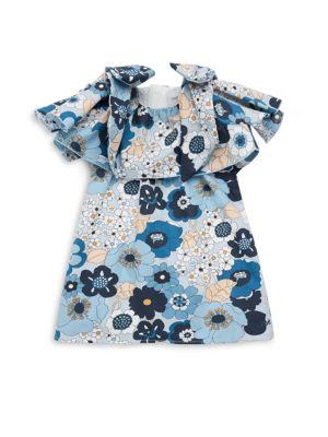 Toddler's Floral Cotton Dress