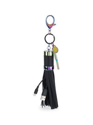 Power Tassel Keychain