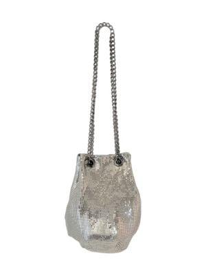 Metal Mesh Bucket Bag