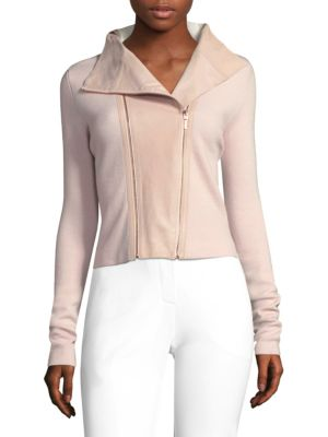 Amanka Wool Biker Jacket