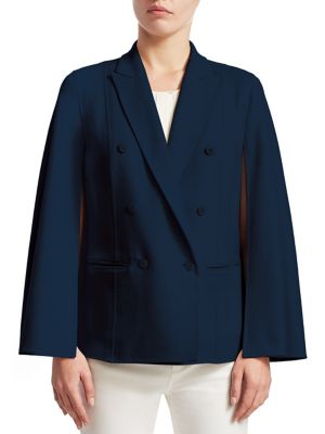 Cashmere Double-Breasted Jacket