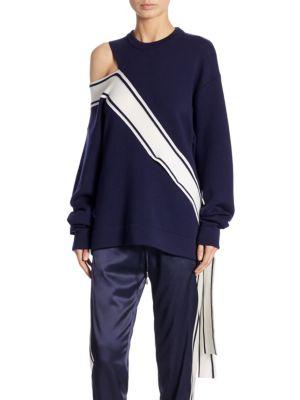 Striped Wool Sweatshirt
