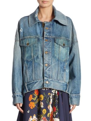 Cocoon Oversized Denim Jacket