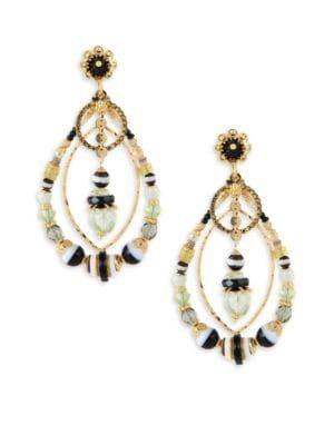 Aurore Swarovski Crystal Drop Earrings
