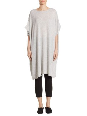 Cashmere Short Sleeve Tunic