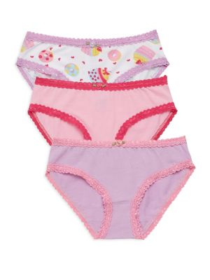 Girl's Cupcake Underwear Trio