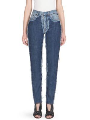 High Rise Denim Jeans by Maison Margiela
