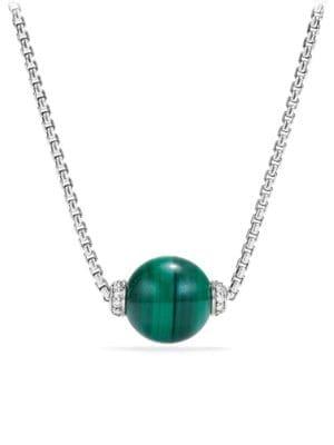 Solari Pendant Necklace with Diamonds & 18K Yellow Gold