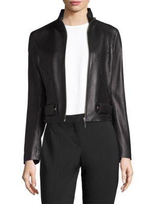 Sanuvo Leather Jacket