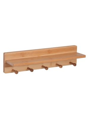 Bamboo Wall Shelf
