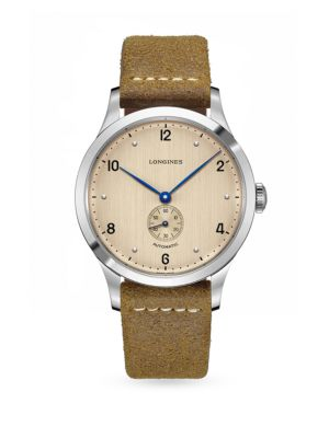 Longines Heritage 1945 Stainless Steel Automatic Strap Watch