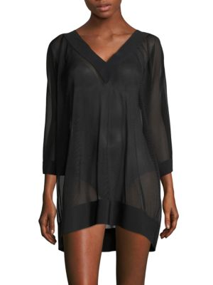 Textured Coverup Dress