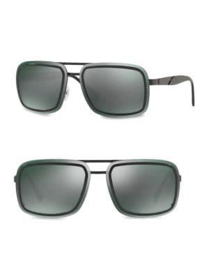 63MM Square Sunglasses