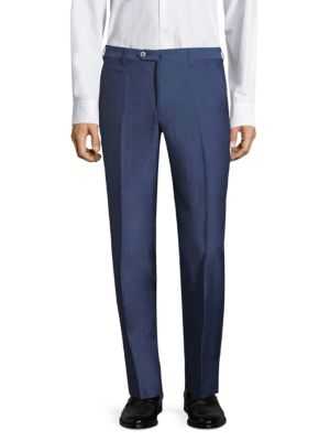 Slim-Fit Classic Trousers