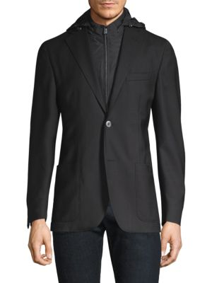 Tailored Wool Sportcoat
