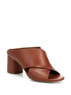 Theron Leather Mules