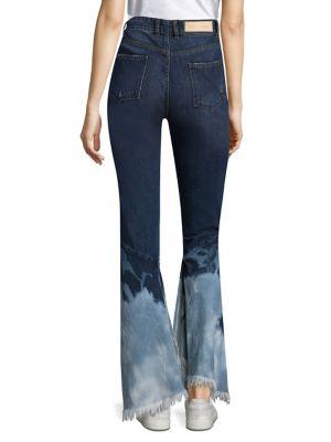 Bouton Bleu Jeans Blanchis - L'autre kgcklFL