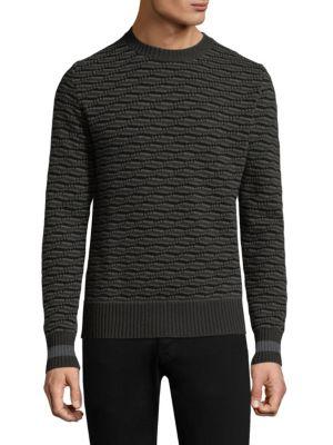 Geometric Cashmere Sweater