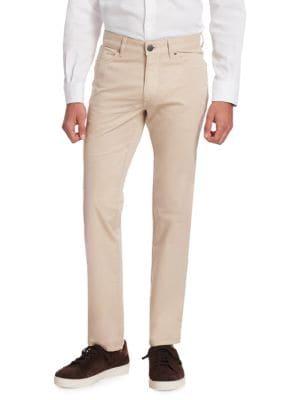 Straight-Leg Chino Pants