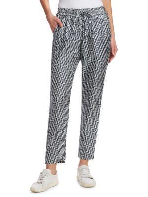 BARBARA LOHMANN Bianca Print Silk Pants