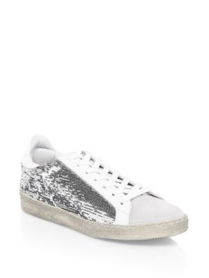 Barthy Sequin Low Top Sneakers