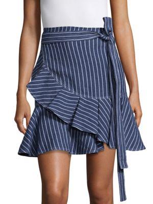 Anvivi Denim Mini Skirt