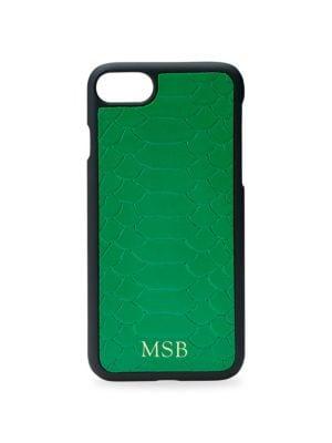 Embossed Leather iPhone 7 Plus Case