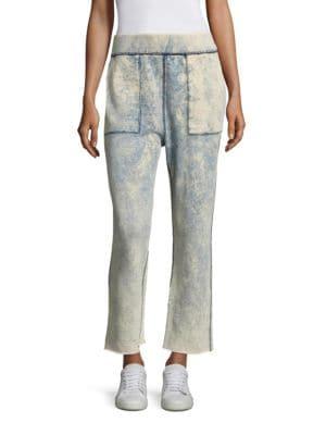 Scout Tie-Dye Cut-Off Sweatpants