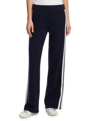 TSE X SFA Athletic Cashmere Striped Pants
