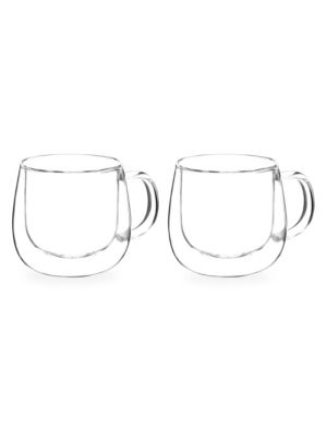 Two-Piece Fresno Double Walled and Handled Cups
