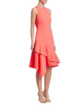 Sleeveless Asymmetric Dress