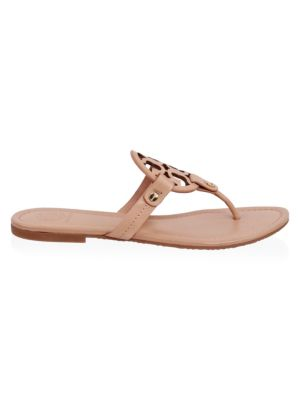 Miller Leather Thong Sandals