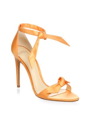 ALEXANDRE BIRMAN Clarita Satin High Heel Sandals Bou1b1wr3