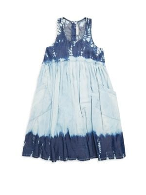Toddler's, Little Girl's and Big Girl's Poco Tie-Dye Dress