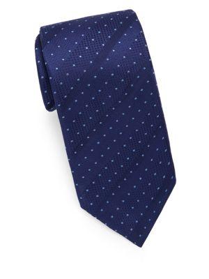 Mini Dot Silk Tie