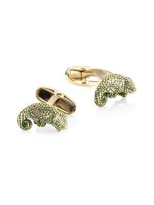 Lizard Cuff Links