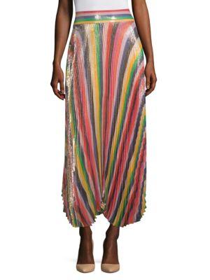 Katz Sunburst Pleated Skirt