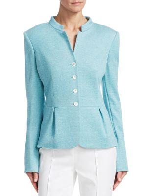 BARBARA LOHMANN Geraldine Silk-Blend Jacket