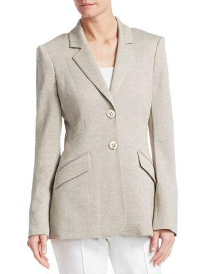 BARBARA LOHMANN Germaine Silk & Cashmere Jacket