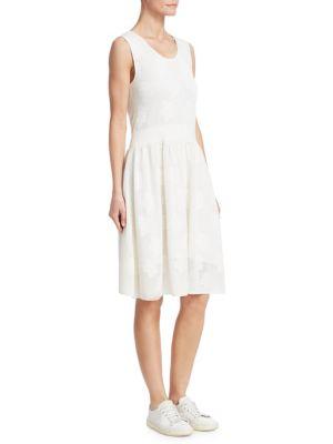 BARBARA LOHMANN Georgia Pointelle A-Line Dress