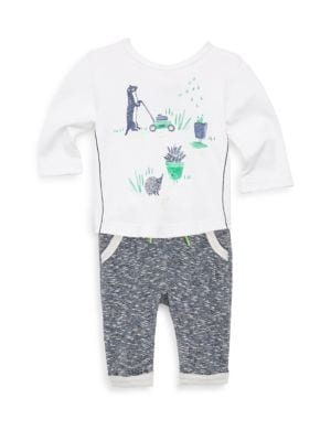 Baby's and Toddler's Top and Sweatpants Set