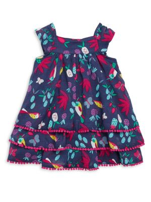 Baby's & Toddler's Tropical Print Dress