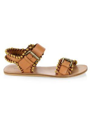 Romy Whipstitch Flat Sandal