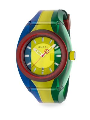 Sync 46mm Rubber Strap Watch