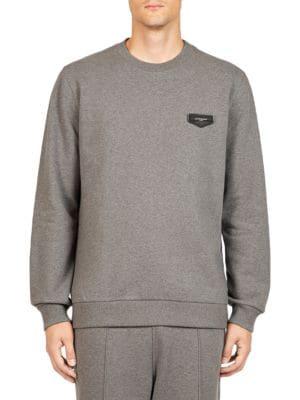 Antigona Patch Cotton Sweatshirt