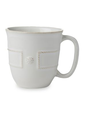 Berry & Thread French Panel Whitewash Coffee Cup
