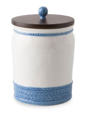 Le Panier Wooden Lid Canister