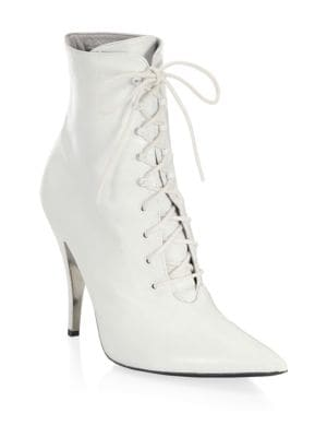 Discount Manchester Great Sale Calvin Klein 205W39NYC Calvin Klein 2018 205W39NYC Rosemarie Lace-Up Ankle Boots Fashion Style Online YOIa4