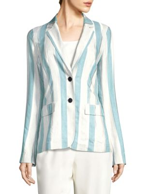 Vangie Striped Blazer
