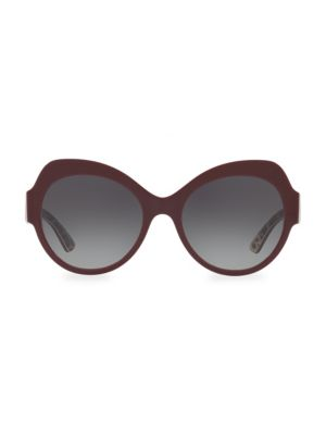 56MM Round Sunglasses